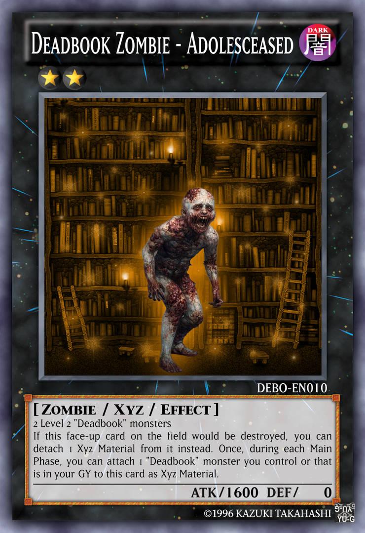 Deadbook Zombie - Adolesceased by Uri101Love