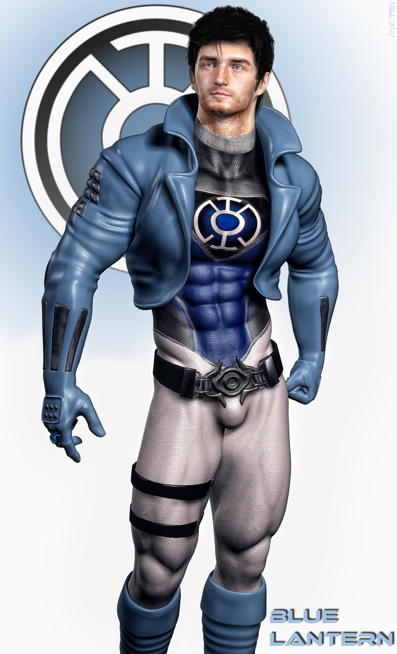 Blue Lantern Re-imagined by Biako06