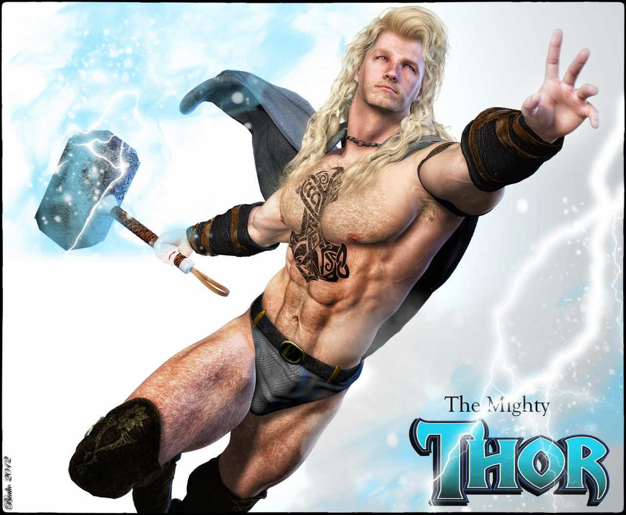 is nothing sacred thor is a woman page 4