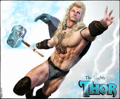 The Mighty Thor - Fantasy re-imagination