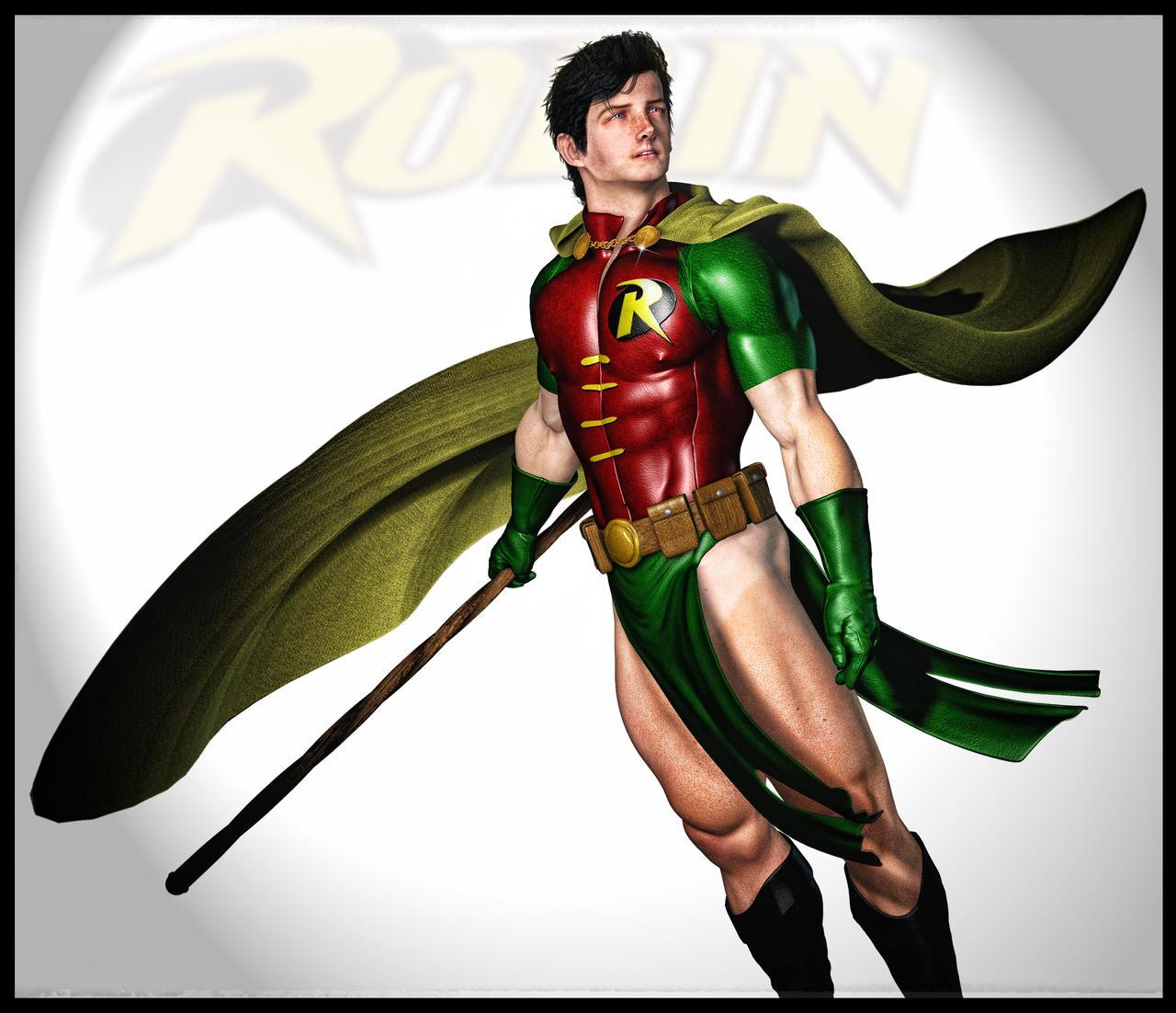 Robin - Boy Wonder by Biako06