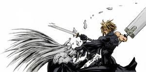 Cloud VS Sephiroth - COLORS