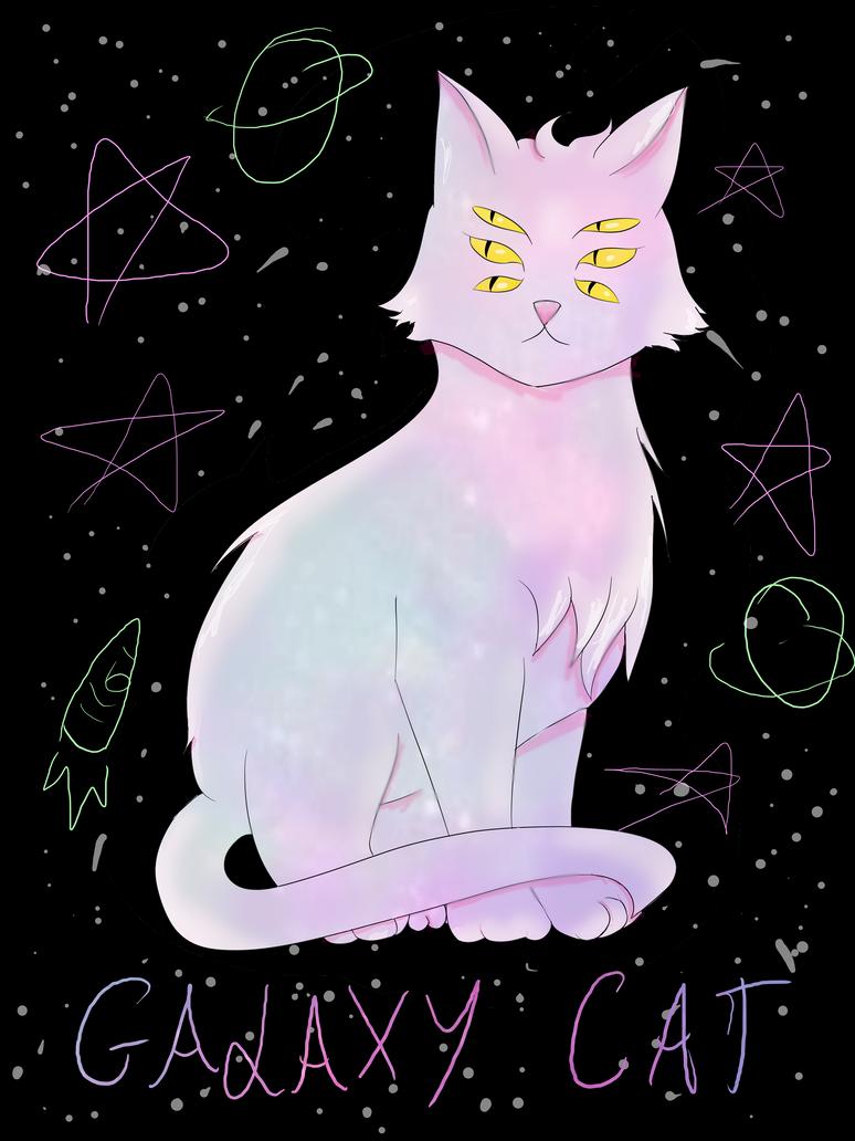 Galaxy Cat by Finstarnessi