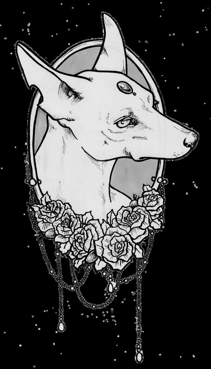 Dusty Rose by Shaiyeh