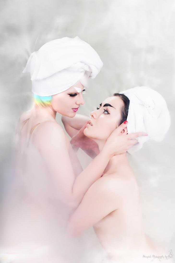 Ragyo and Satsuki by OniksiyaSofinikum