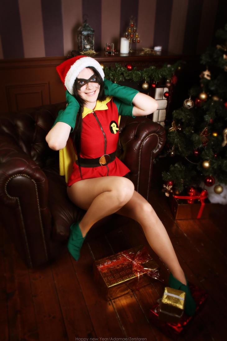 Fem/Robin~ Happy Elf by OniksiyaSofinikum