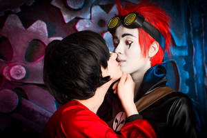 Jack and Kimiko~ Kiss