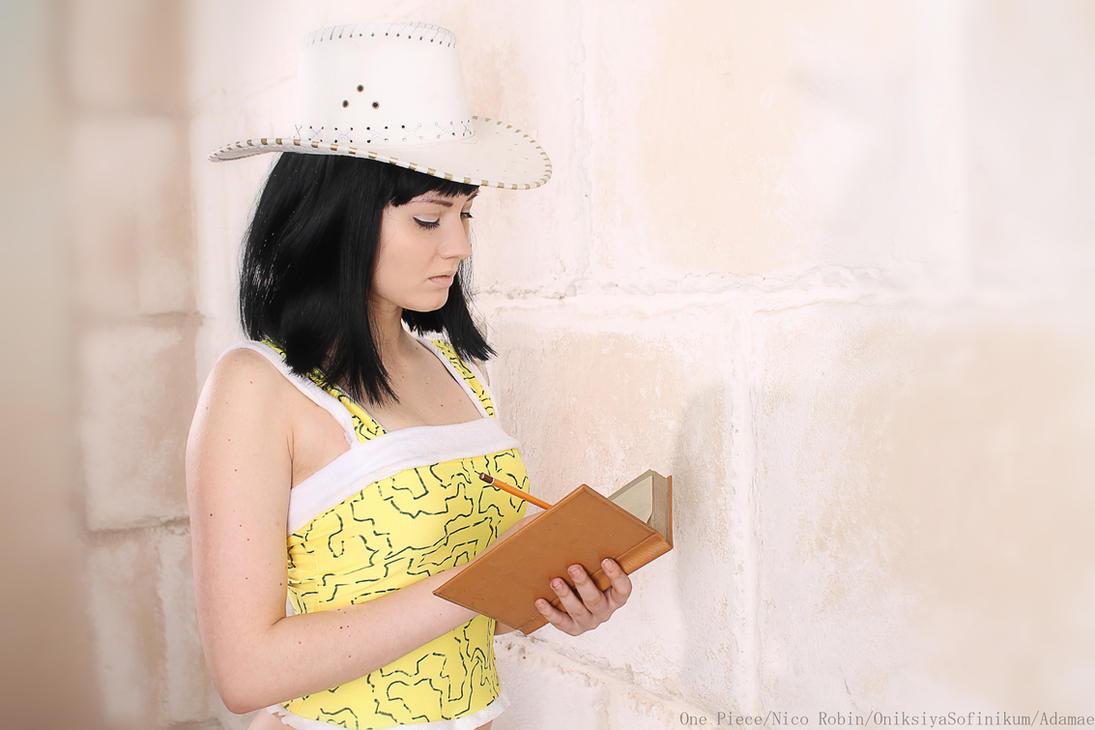 Nico Robin - Skypiea - Archaeologist by OniksiyaSofinikum