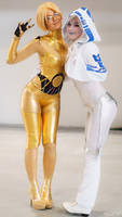C3PO and R2D2~