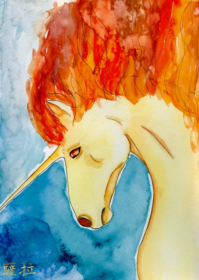 Rapidash by Goldsturm