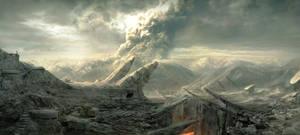 Volcanic Landscape by Pavart