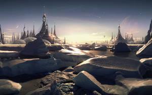 City on Ice by Pavart