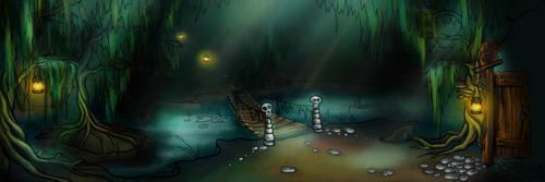 Shaman's swamp by Zinita