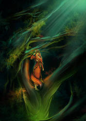 Lady of the forest by Zinita