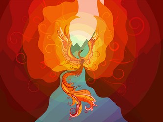 Phoenix by Zinita