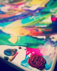 Violin Birthday Painting (4) by MrAvocadoNinja