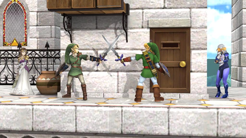Swordplay Training by LinkTahuterasuSpirit