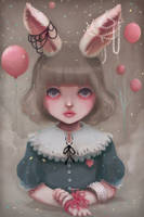 Juliette balloons and pearls by beyondthechuch