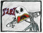 scary jack skellington