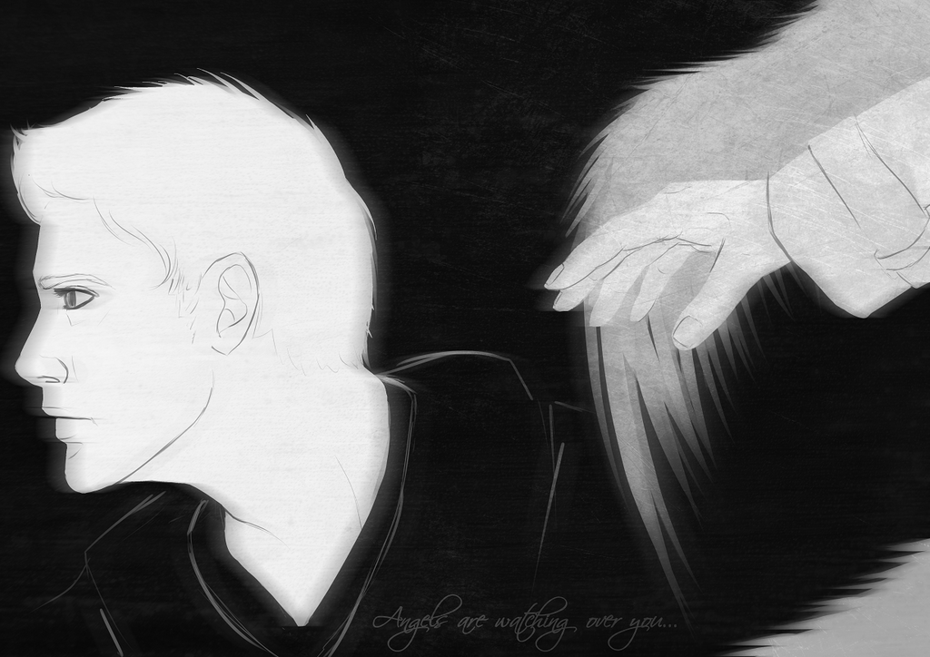 spn_ angels are watching over you by DasJulschn