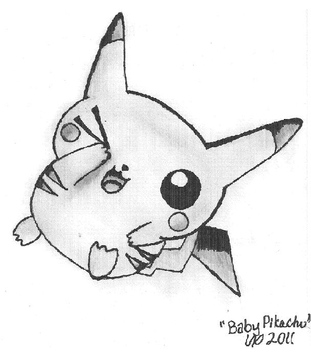 Wonderful Baby Pikachu By Animeprincess299 ...