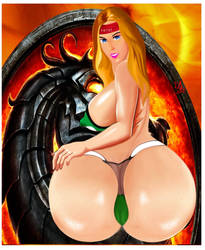 Sonya Blade Mortal Kombat Desire-001