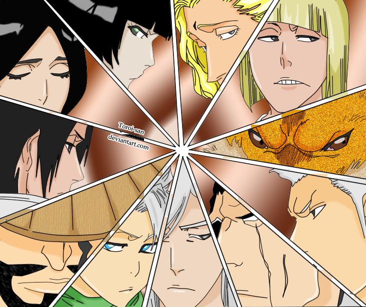Captains by Toroi-san