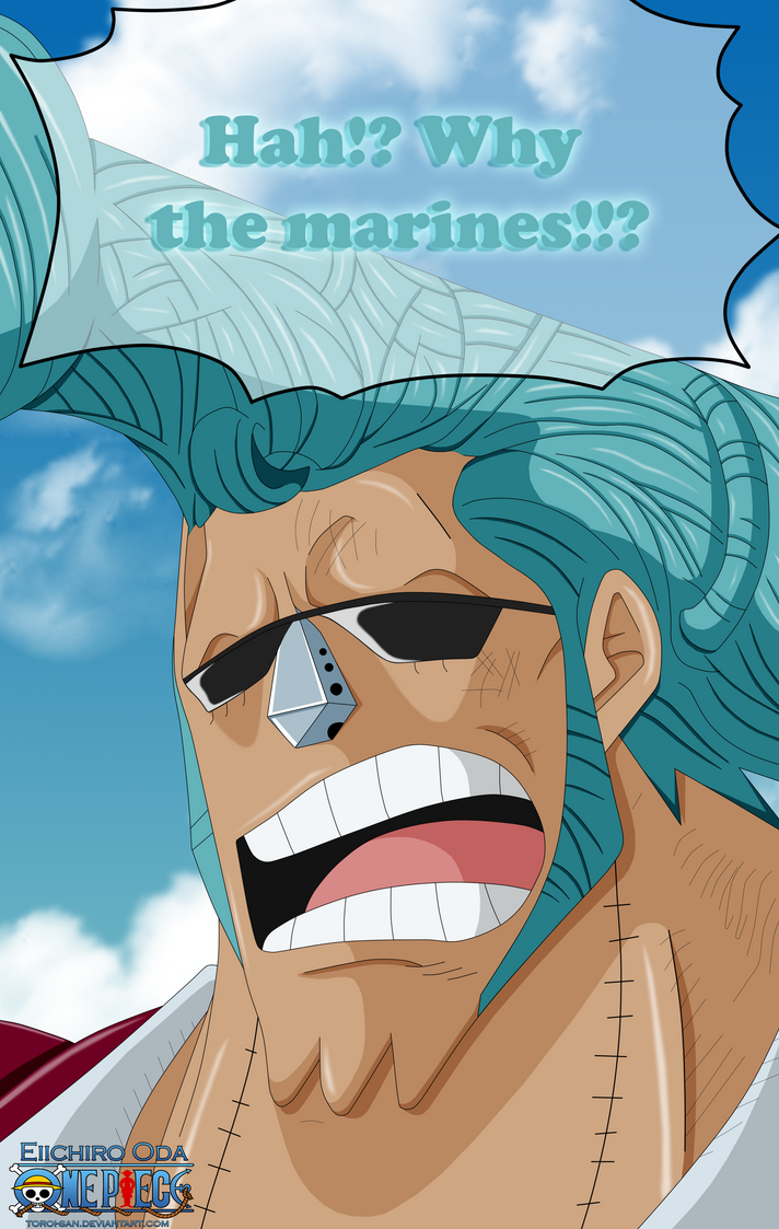 One Piece 735: Franky by Toroi-san