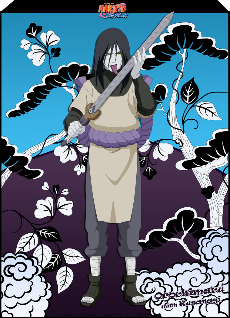 Orochimaru (with Kusanagi) by Toroi-san