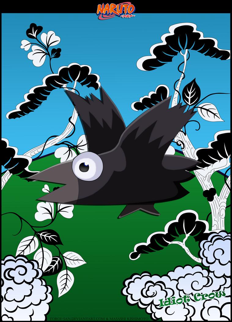 Idiot Crow (Aho Bird) by Toroi-san