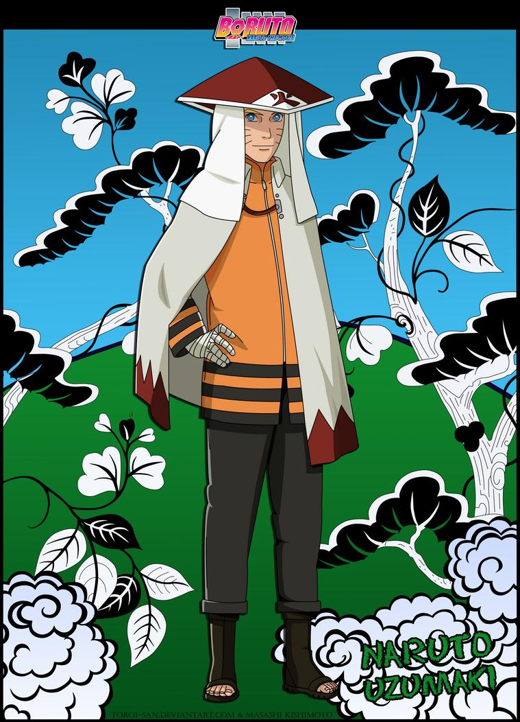 Naruto Uzumaki (7-th Hokage) by Toroi-san