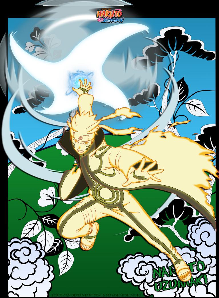 Naruto Uzumaki  -Rasen Shuriken- by Toroi-san