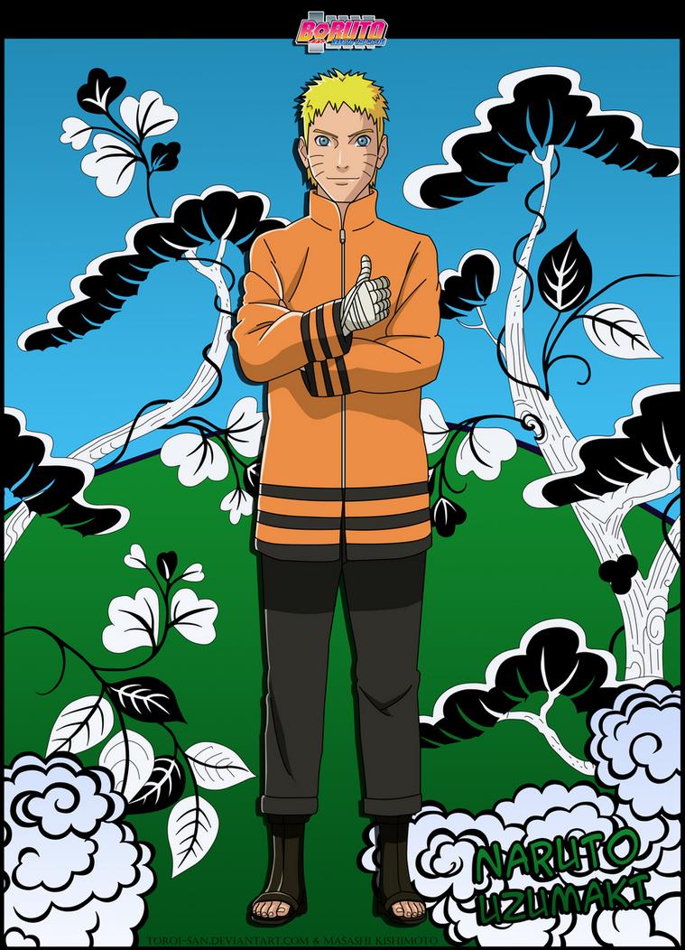 Naruto Uzumaki  -Adult- by Toroi-san