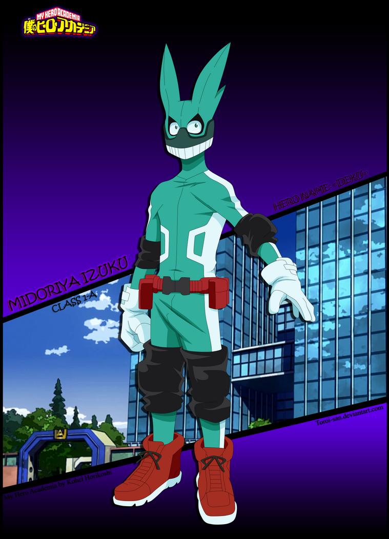 Izuku Midoriya -First Uniform- by Toroi-san