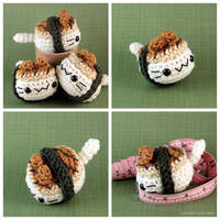 Unagi Nigiri Cat by pocket-sushi