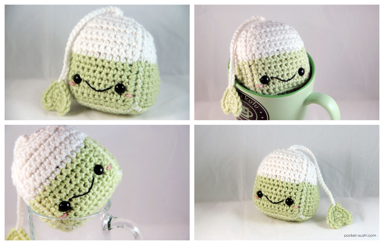 Amigurumi Tea Bag by pocket-sushi on DeviantArt
