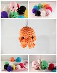 Jellin - Amigurumi Jellyfish Plush