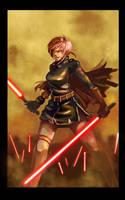 Sith girl by longai