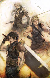 FFVII, THE SOLDIERS