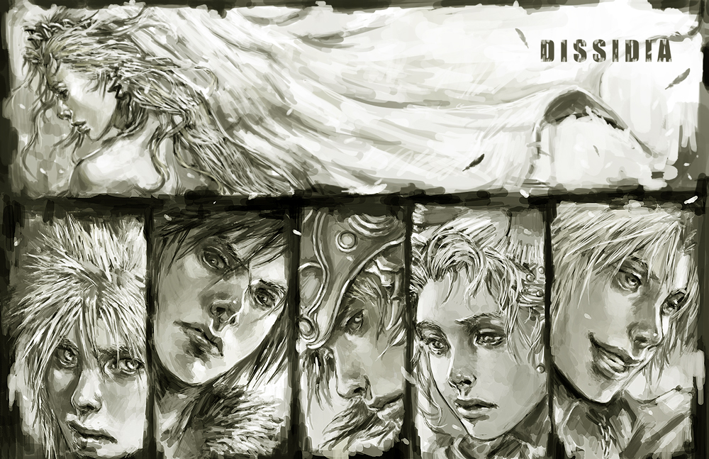 dissidia by longai