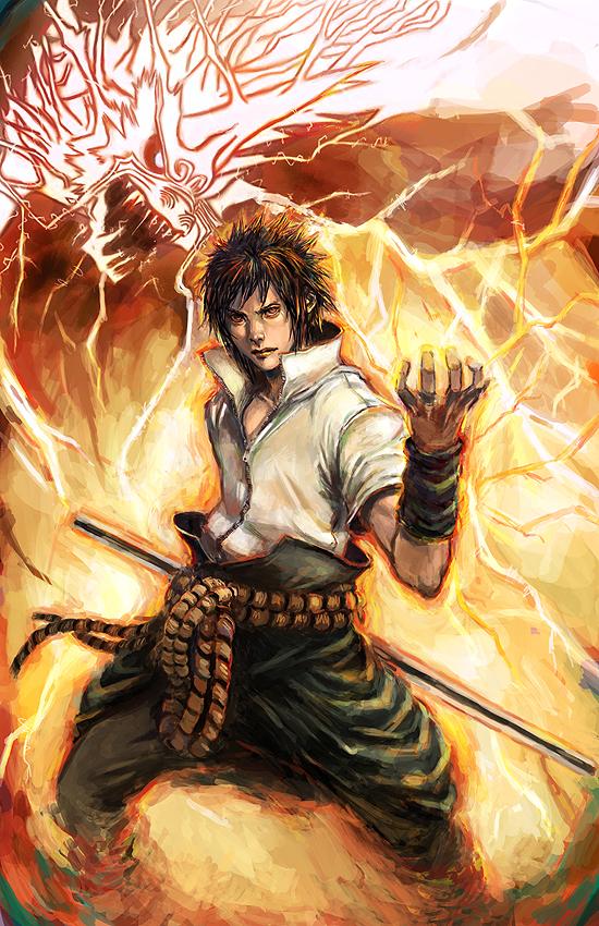 Sasuke and kirin