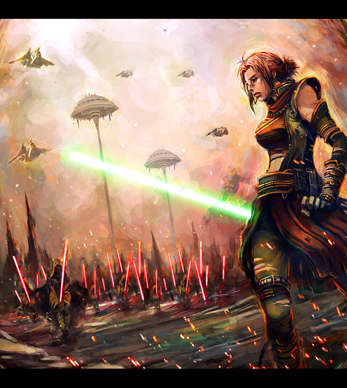Star wars by longai
