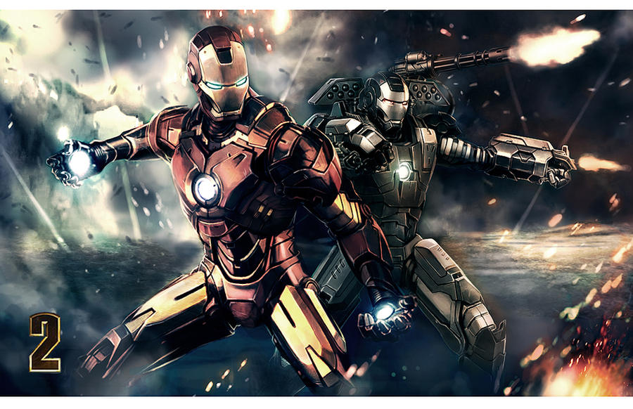 ironman 2 by longai