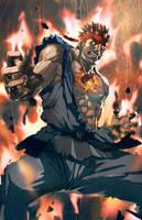 Evil RYu by longai