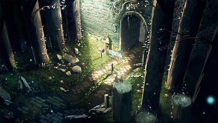 Forest by longai