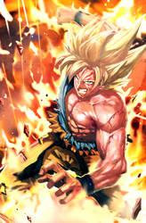 Super Saiyan Goku by longai