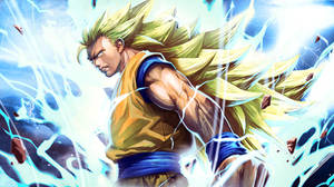 Super Saiyan 3 Goku by longai