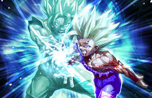 Father son Kamehameha by longai
