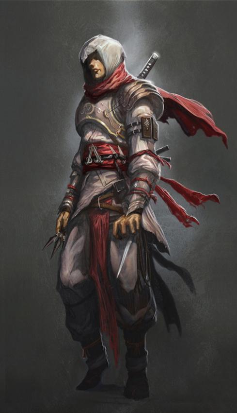 Assassin concept by longai