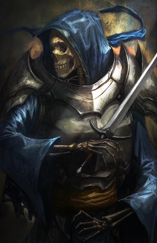 Skullknight by longai